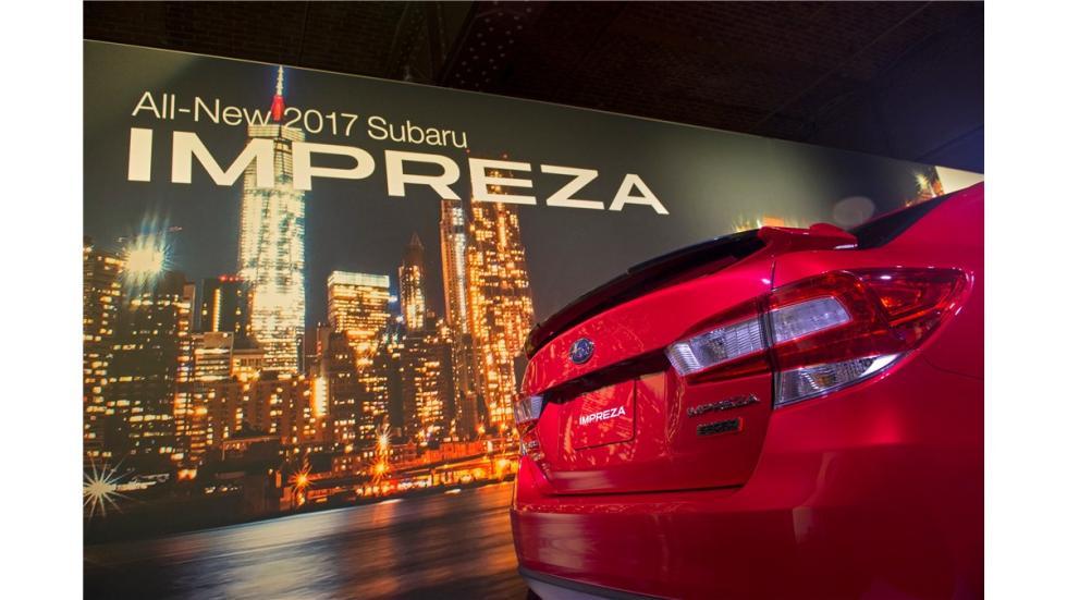 Subaru Impreza Sport Sedan 2017 detalle