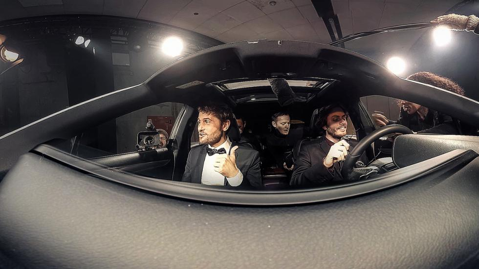 camara 360º anuncio lexus