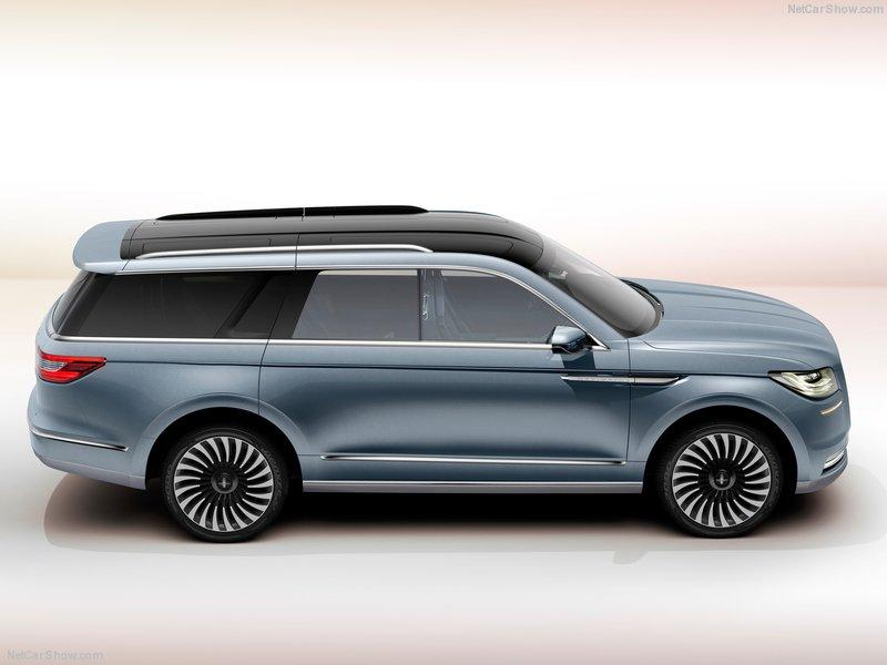 Lincoln Navigator Concept 2016 lateral