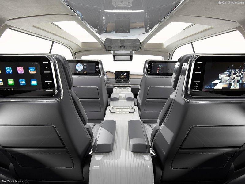 Lincoln Navigator Concept 2016 asientos