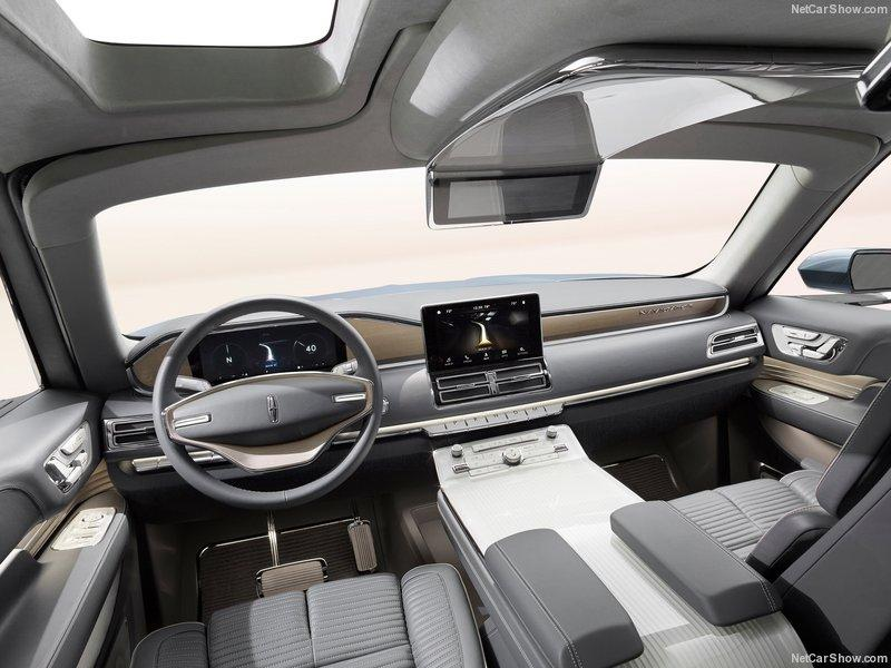 Lincoln Navigator Concept 2016 cuadro mandos