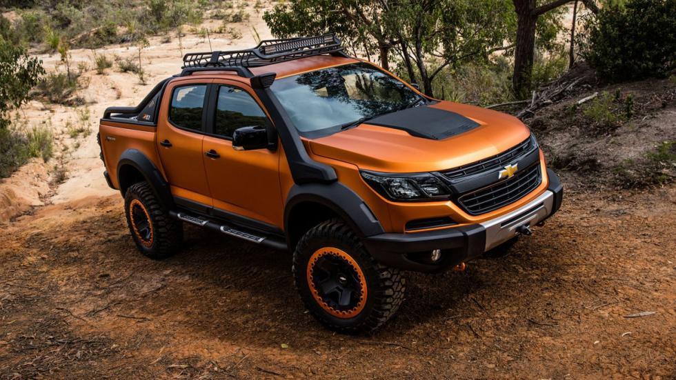 Chevrolet Colorado Xtreme delantera
