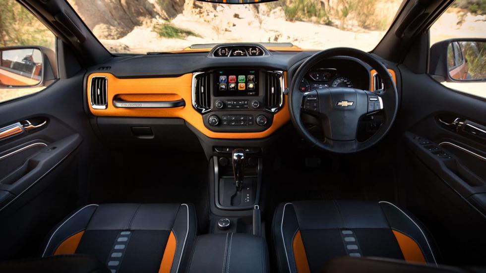 Chevrolet Colorado Xtreme interior