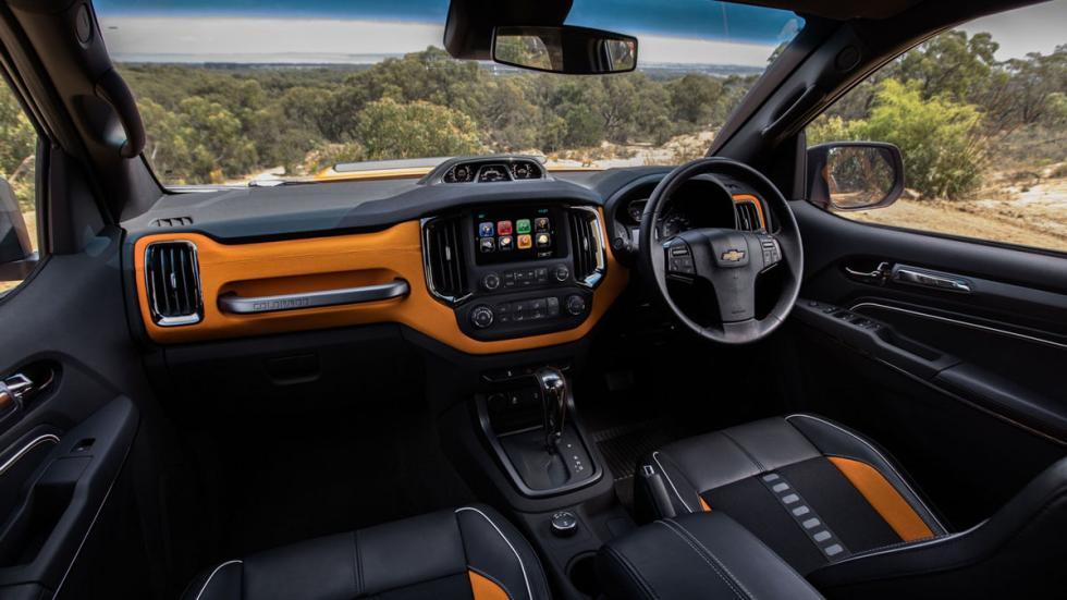 Chevrolet Colorado Xtreme detalle interior