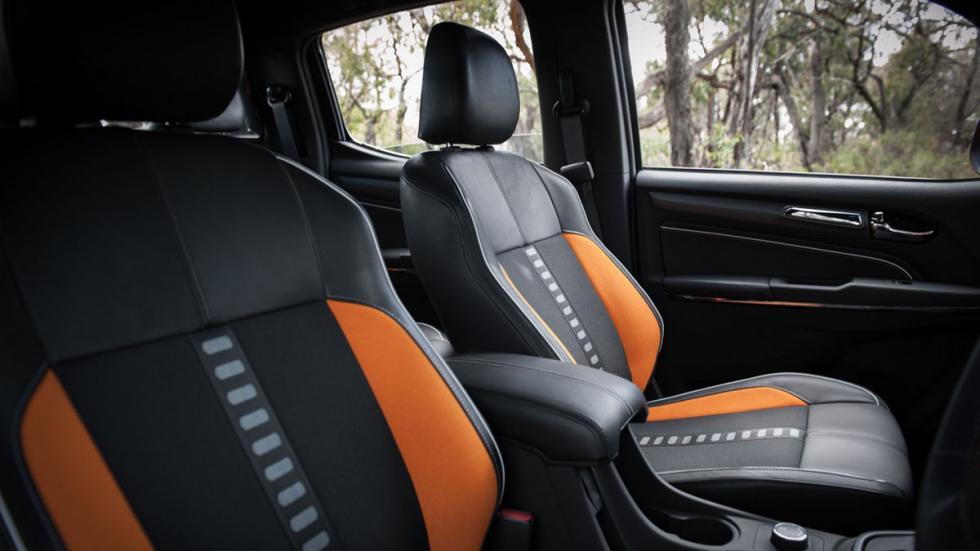 Chevrolet Colorado Xtreme asientos