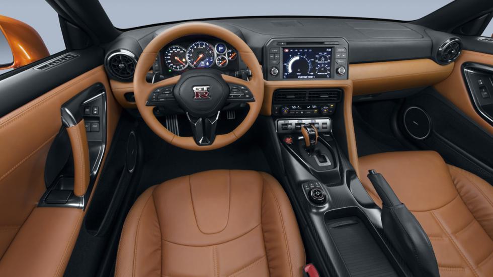 Nissan GT-R 2017 salpicadero