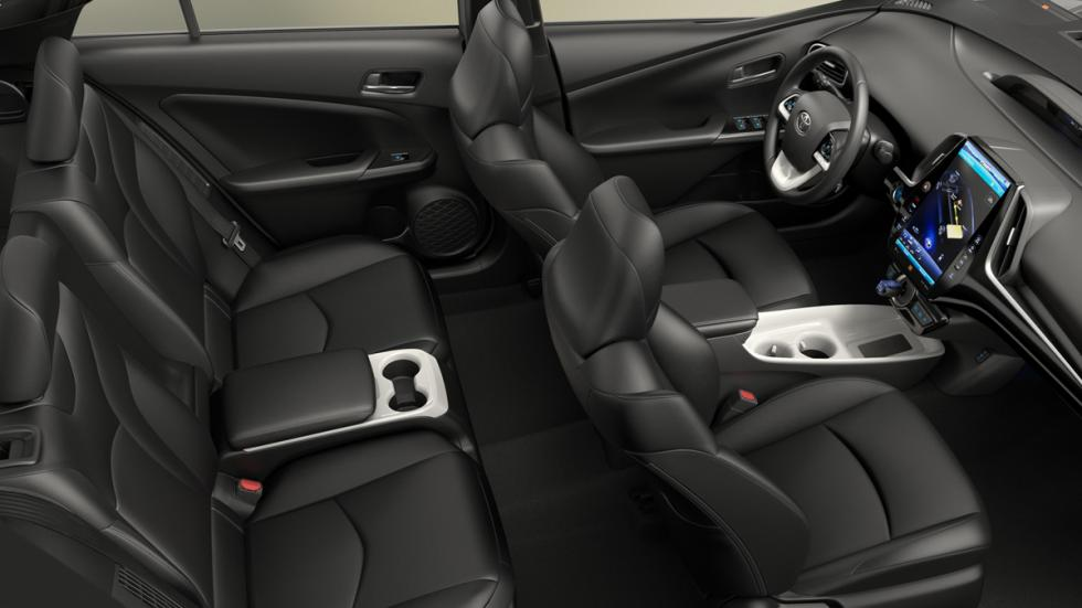 Toyota Prius Prime habitáculo