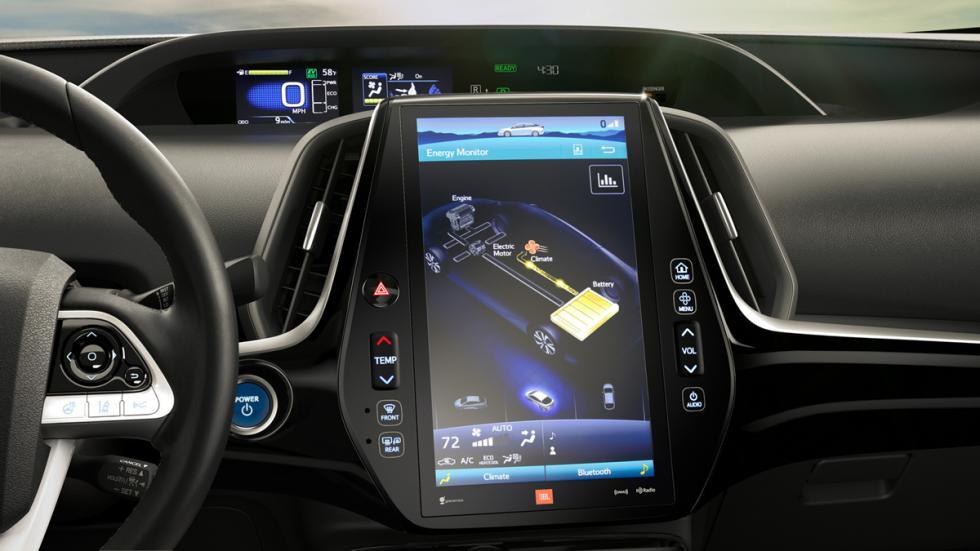 Toyota Prius Prime navegador