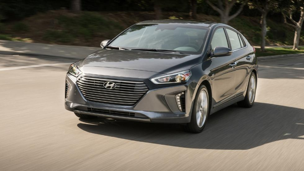 Hyundai Ioniq Salón Nueva York 2016 frontal