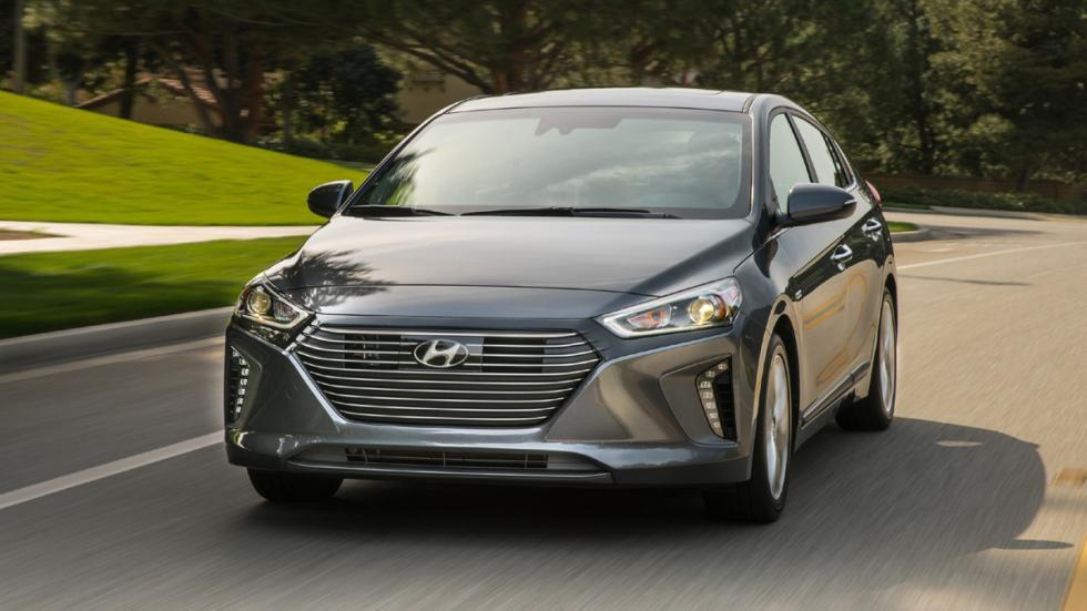 Hyundai Ioniq Salón Nueva York 2016 tres cuartos
