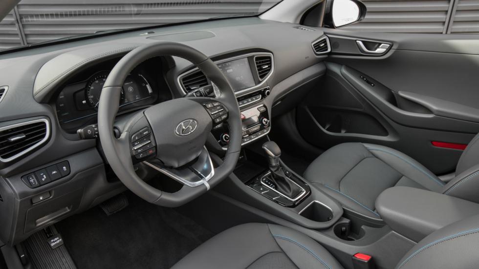 Hyundai Ioniq Salón Nueva York 2016 interior