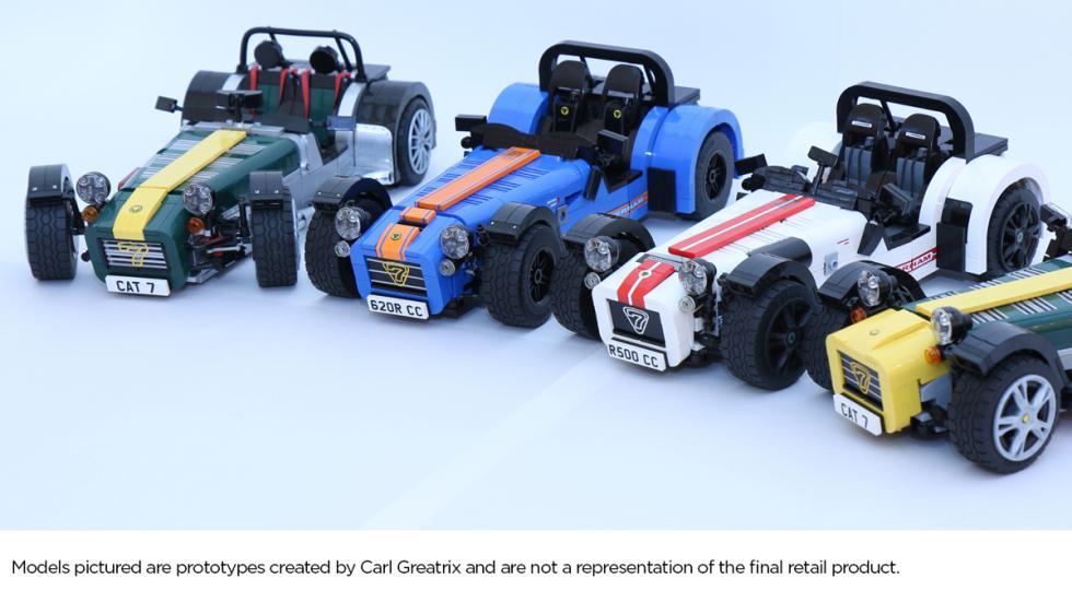 modelos caterham lego