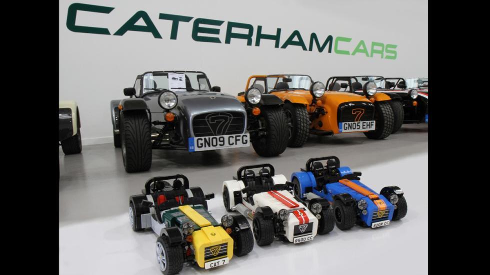 caterham replicas lego
