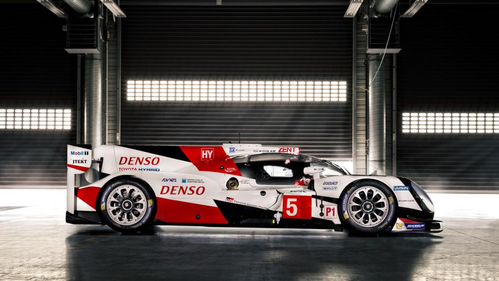 Toyota TS050 HYBRID, lateral