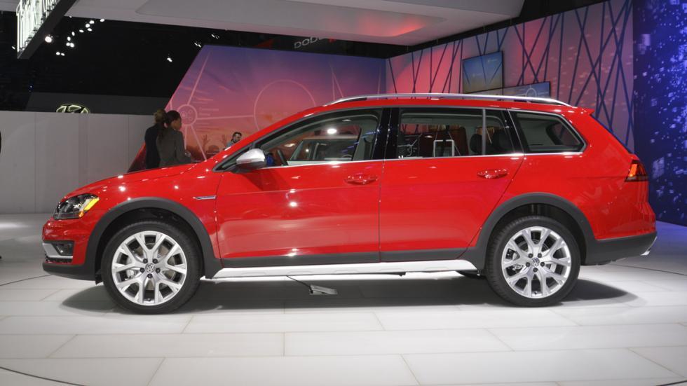 Volkswagen Golf Alltrack mercado de Estados Unidos perfil