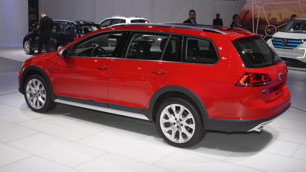 Volkswagen Golf Alltrack mercado de Estados Unidos zaga