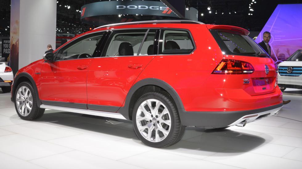 Volkswagen Golf Alltrack mercado de Estados Unidos culo