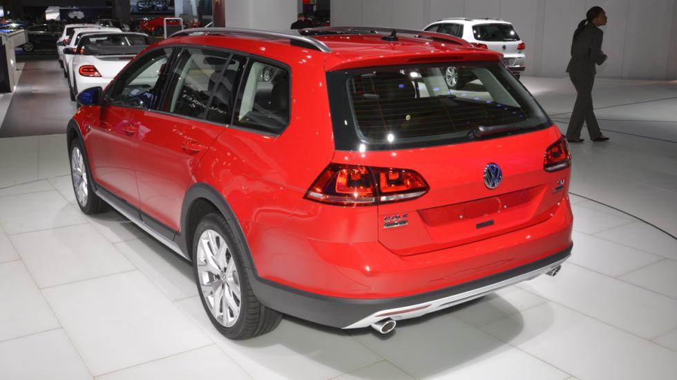 Volkswagen Golf Alltrack mercado de Estados Unidos trasera