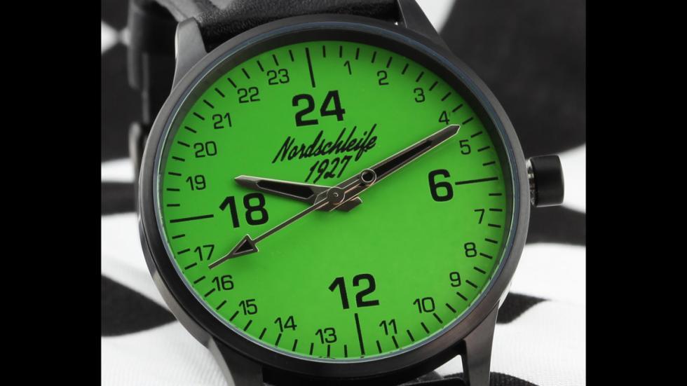 corona reloj infierno verde