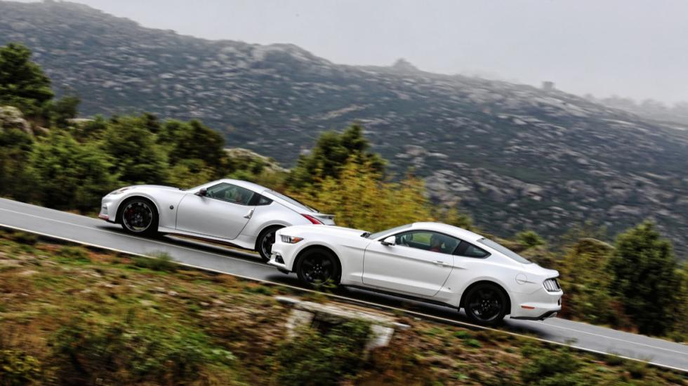 Comparativa Ford Mustang/Nissan 370Z