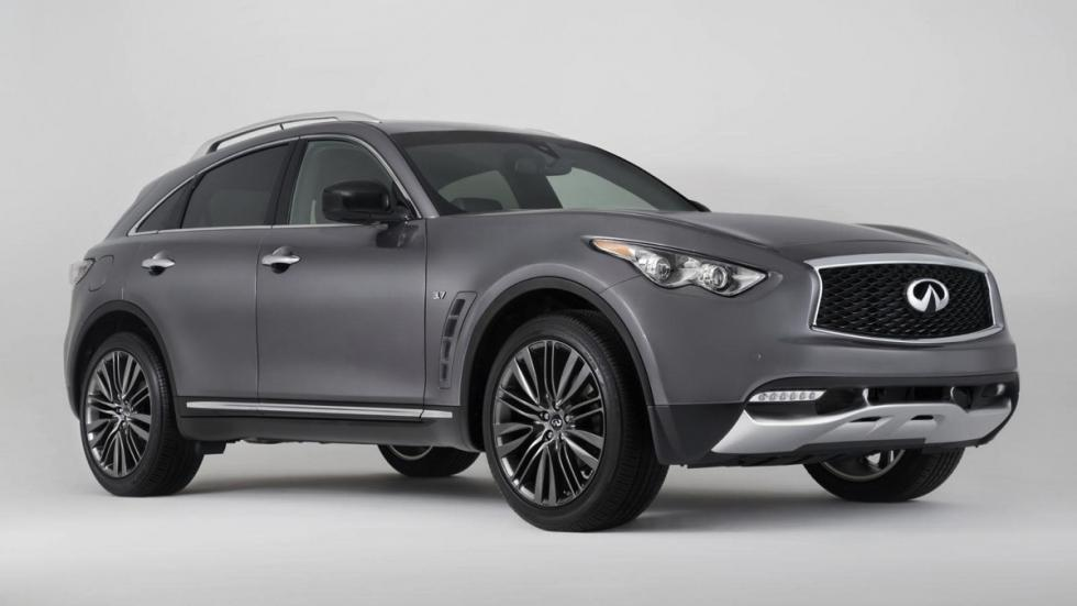Infiniti QX70 Limited frontal