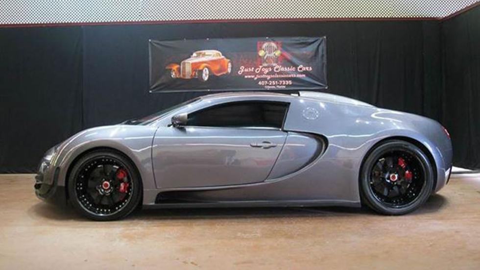 Réplica de Bugatti Veyron lateral