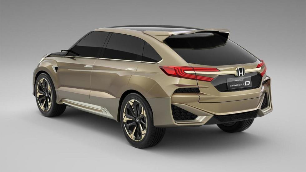 Honda UR-V tres cuartos traseros