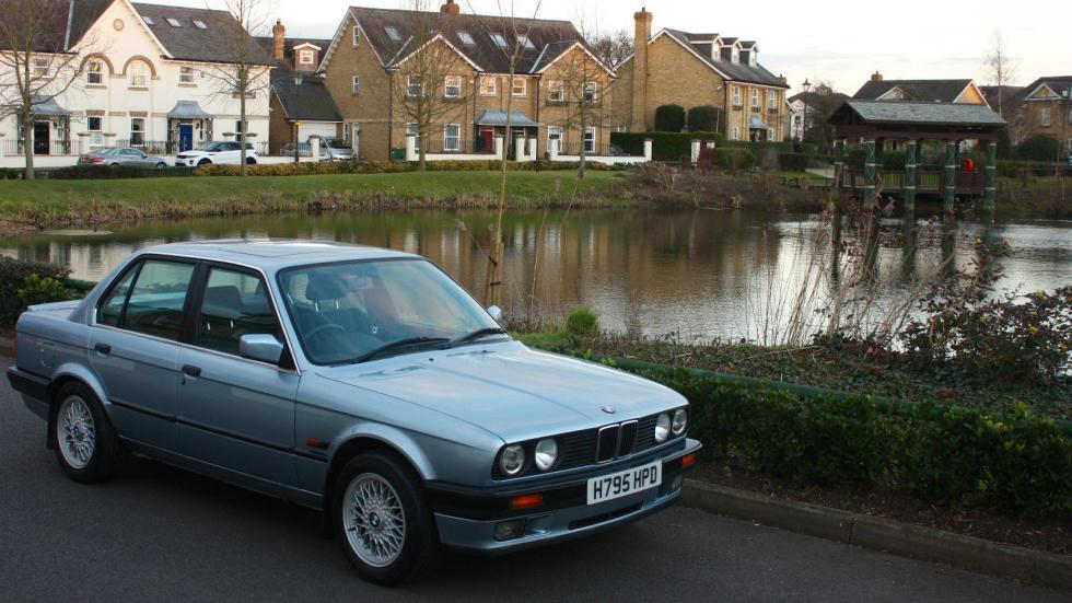 BMW E30 325i tres cuartos delanteros
