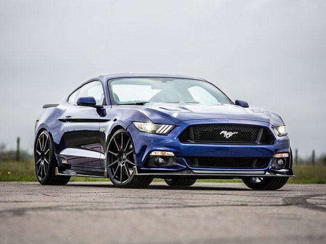 Mustang GT by Hennessey Performance tres cuartos delantero