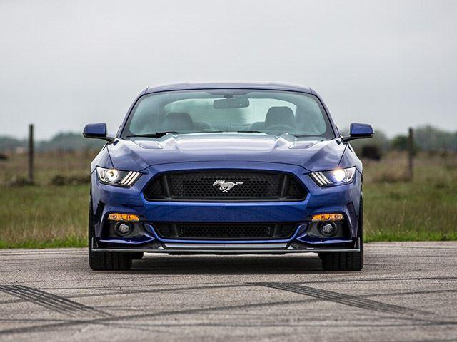 Mustang GT by Hennessey Performance morro