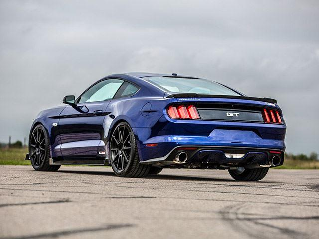 Mustang GT by Hennessey Performance tres cuartos traseros