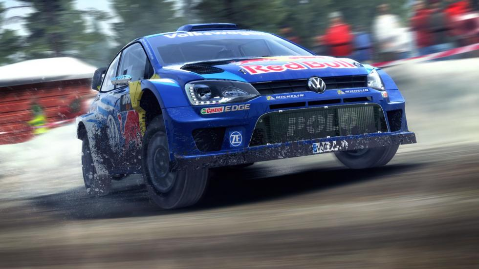 dirt rally vw polo wrc