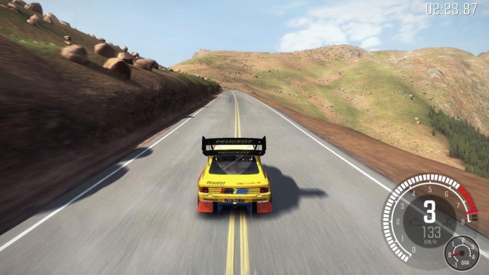 dirt rally peugeot 205 T16