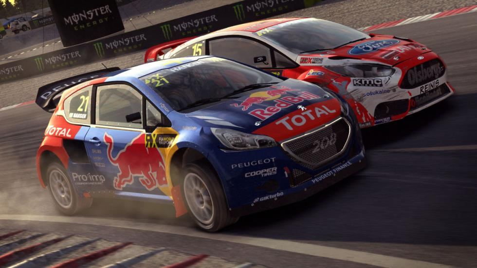 dirt rally rally cross