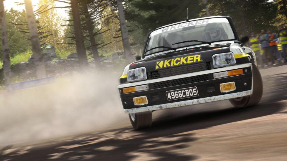 dirt rally Renault 5