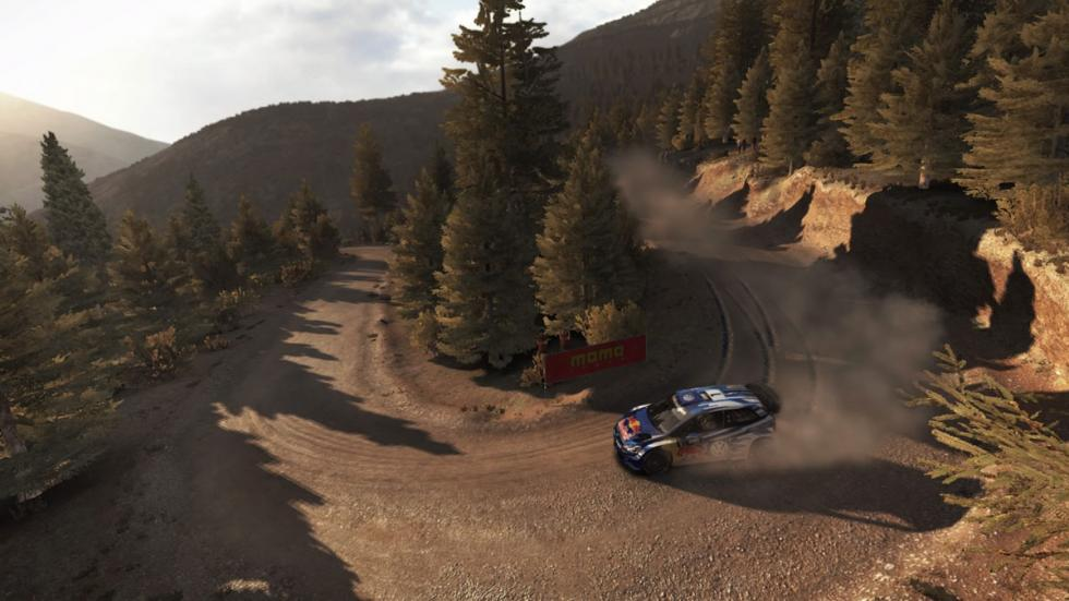 dirt rally vw polo ogier curva