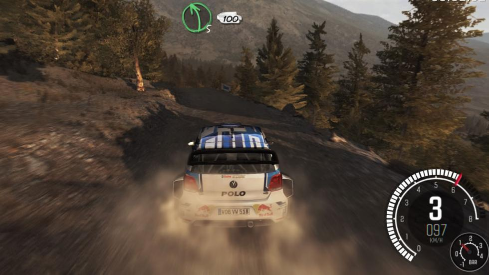 dirt rally vw polo ogier