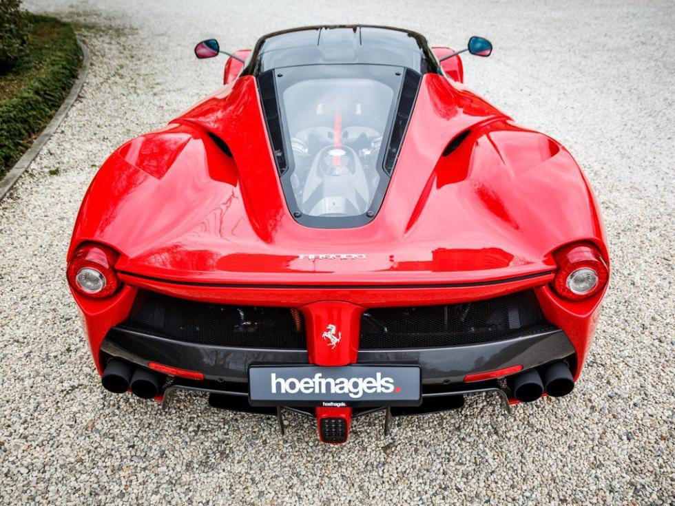 Ferrari LaFerrari trasera