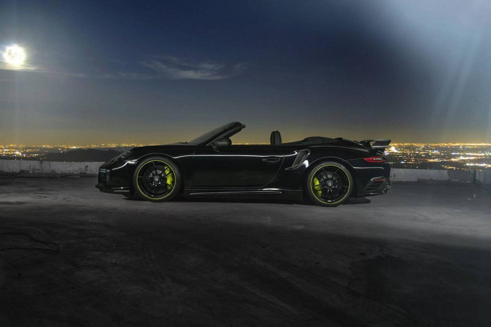 Porsche 911 Carrera y Turbo by Techart lateral