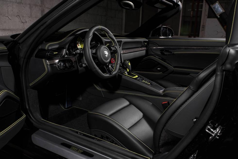Porsche 911 Carrera y Turbo by Techart interior