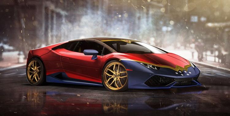 El Lamborghini Huracán de Wonderwoman