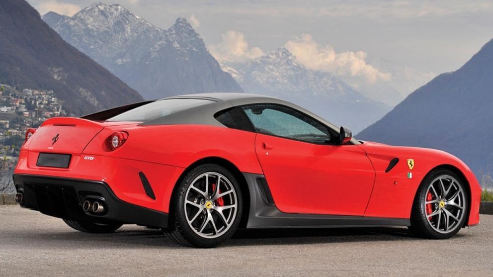 Ferrari 599 GTO usado tres cuartos