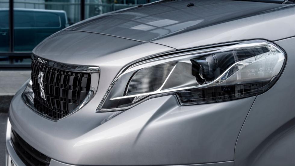 frontal de la Peugeot Expert