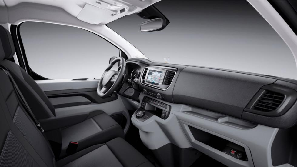 volante de la Peugeot Expert