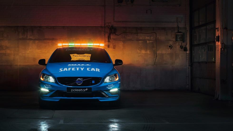 Volvo V60 Polestar Safety Car del WTCC morro
