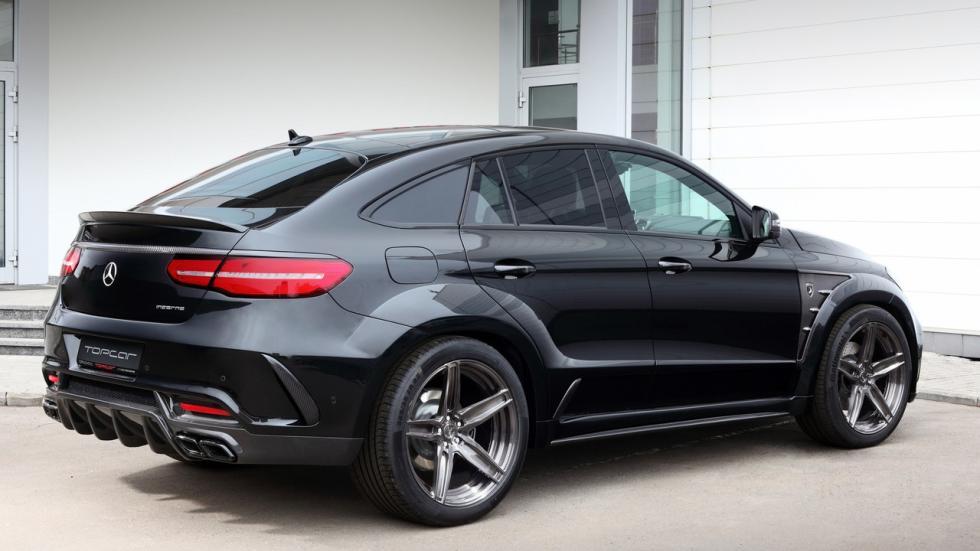 Mercedes GLE Coupe by Topcar tres cuartos traseros