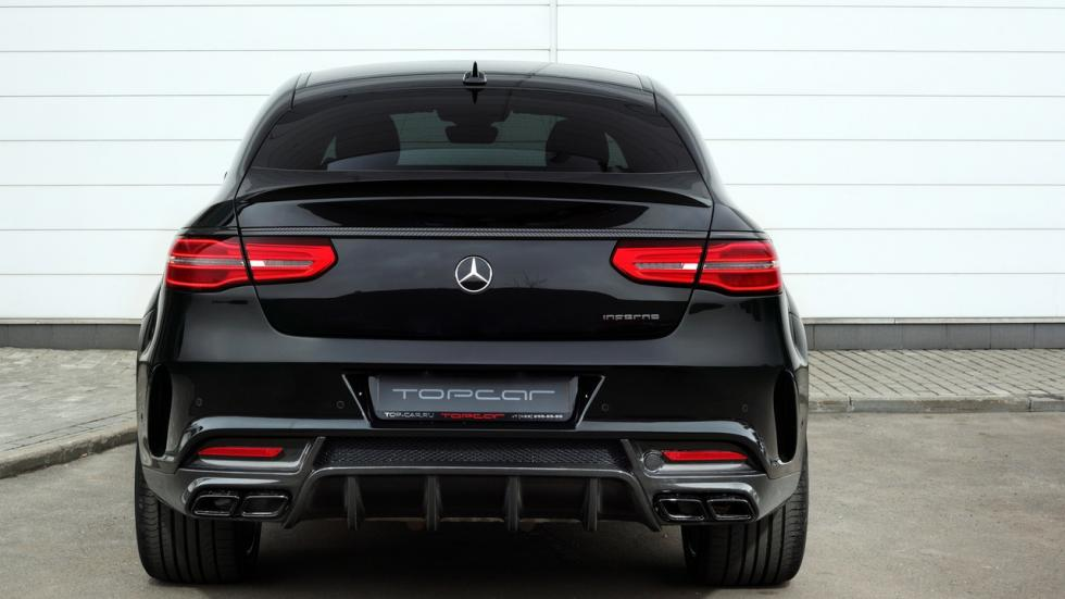 Mercedes GLE Coupe by Topcar trasera