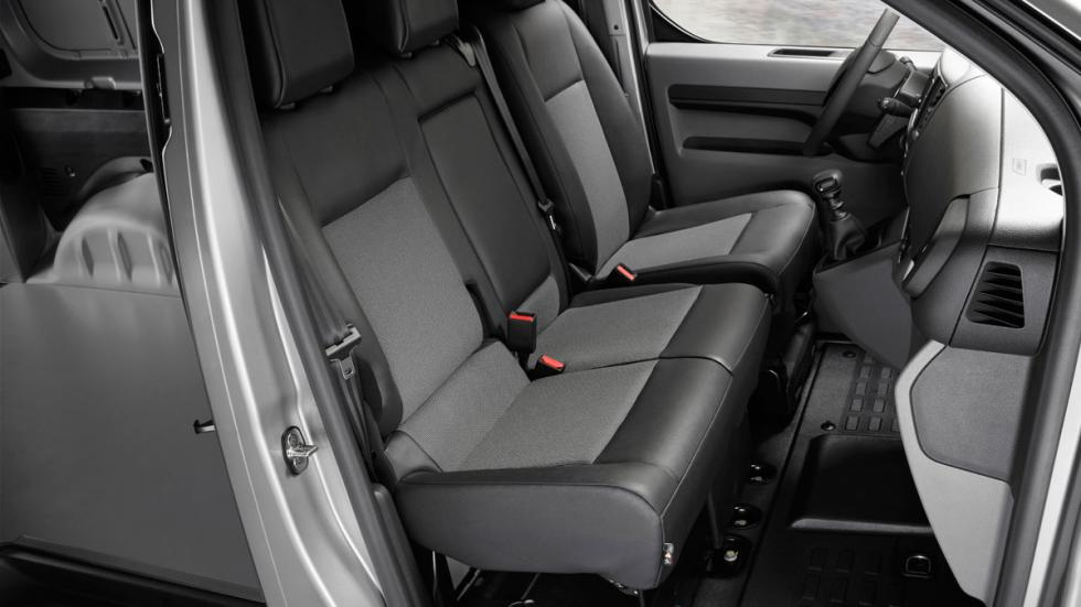 asientos de la Peugeot Expert