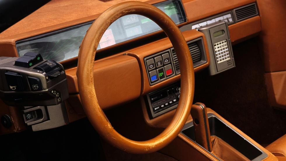 prototipos abandonados Lamborghini Athon interior