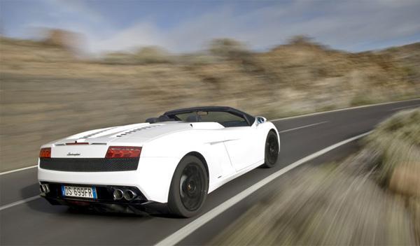 Lamborghini Gallardo Spyder Bieber